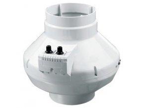 Odtahový ventilátor s termostatem a průtokem vzduchu 250m3/h, VK100U od Vents.