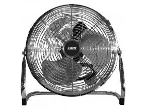 Podlahový cirkulační ventilátor o průměru 23cm, RAM.