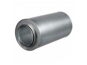 Tlumič hluku o délce 60cm pro vzduchové hadice o průměru 160mm.