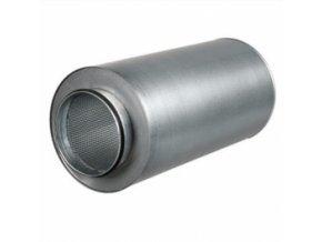 Tlumič hluku o délce 90cm pro vzduchové hadice o průměru 150mm.