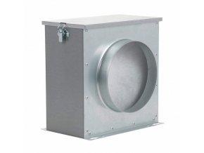 Prachový filtr pro vzduchotechniku pro průměr vzduchových hadic 125mm, Can-Filters.