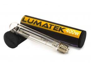 Pěstební sodíková výbojka o výkonu 400W od Lumatek.