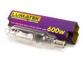 Pěstební růstové světlo o výkonu 600W s barvou světla 6000K, Lumatek.