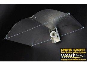 Stínidlo pro pěstební výbojky s paticí E40, XXL od Waveflector.
