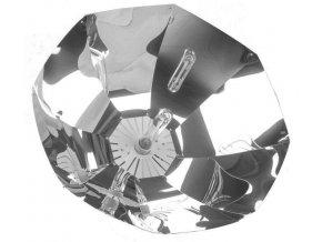 Stříbrné parabolické stínidlo pro pěstební výbojky s paticí E40, Shinobi od Lumatek.