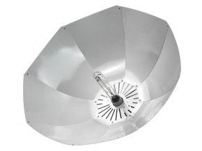 Bílé parabolické stínidlo pro pěstební výbojky s paticí E40, Shinobi od Lumatek.