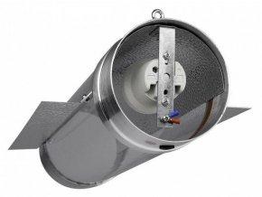 Cooltube stínidlo k napojení na ventilaci o průměru 125mm, pro pěstební výbojky, Ventilution.