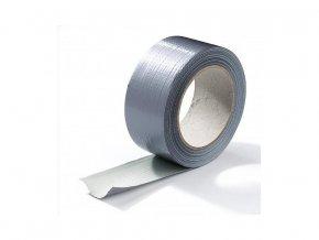 Lepící textilní páska potažená PE fólií, Ducktape 10m x 50mm.