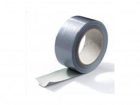 Lepící textilní páska potažená PE fólií, Ducktape 50m x 50mm.