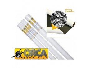 Odrazová fólie bílé barvy do pěstební místnosti, ORCA 1,37mx10m.