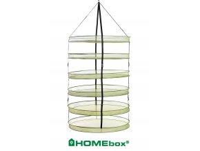Sušící síť s 6-ti patry o průměru 90cm, Drynet od HomeBox.