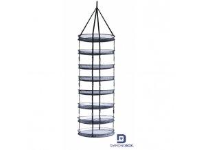 Sušící síť s 8-mi patry a průměrem 90cm, Drynet od Diamond Box.