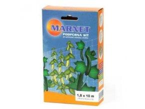 Opěrná síť na rostliny o rozměrech 1,8x10m, Marnet.