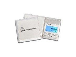 Digitální váha s rozlišením od 0,01g a maximální zátěží 100g, DX Miniscale od On Balance.
