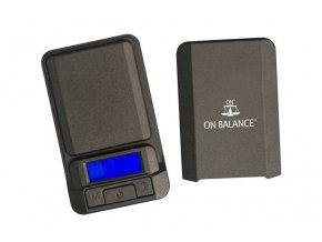 Digitální váha s rozlišením od 0,1g a maximální zátěží 600g, Lite Miniscale od On Balance.