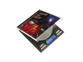Digitální váha s rozlišením od 0,1g a maximální zátěží 500g, CD Scale od On Balance.