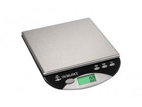 Digitální váha s rozlišením 0,1g a maximální zátěží 3000g, Kitchen Bowl od On Balance.