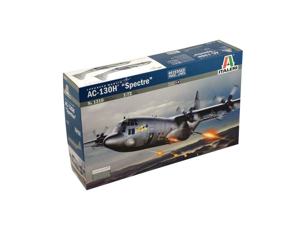 1004 model kit lietadlo italeri 1310 ac 130h spectre 1 72