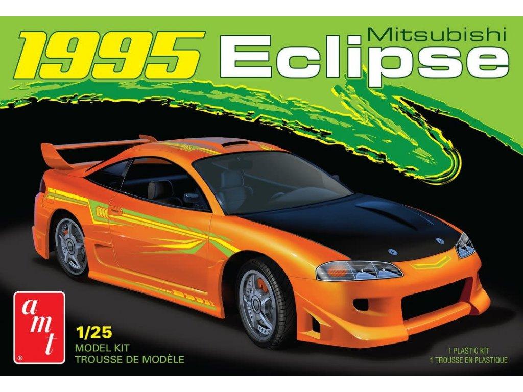 Plastový model auto AMT 1089 - 1995 Mitsubishi Eclipse (1:25)
