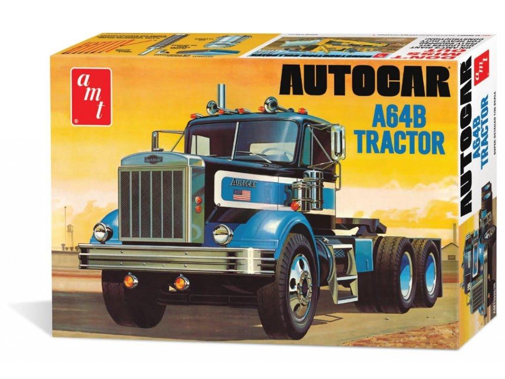 Plastový model kamion AMT 1099 - Autocar A64B Tractor (1:25)