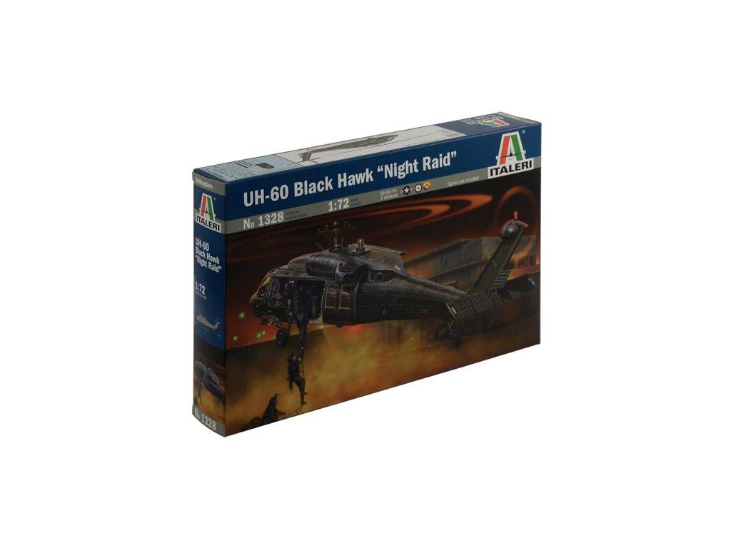 1019 model kit vrtulnik italeri 1328 uh 60 mh 60 black hawk night raid 1 72