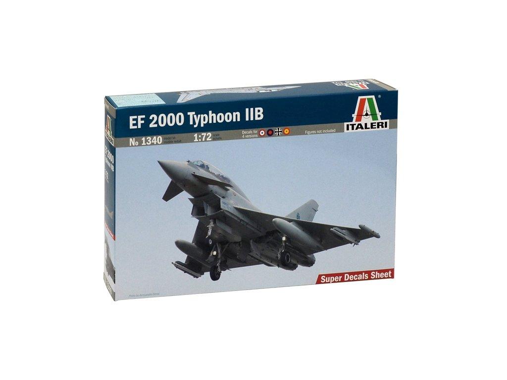 1031 model kit lietadlo italeri 1340 ef 2000 typhoon with seater 1 72