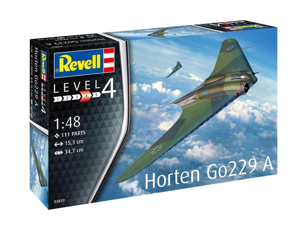 Plastový model lietadlo REVELL 03859 - Horten Go229 A-1 (1:48)