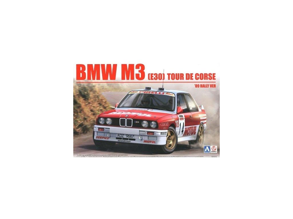 Model Kit auto BEEMAX B24016 - BMW M3 E30 `89 Tour de Corse Rally (1:24)