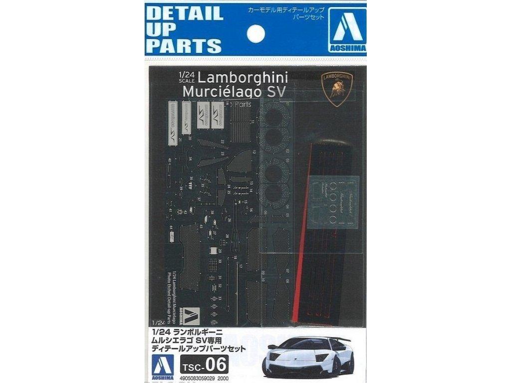 Detail up parts AOSHIMA AO05902 - Lamborghini Murcielago SV (1:24)