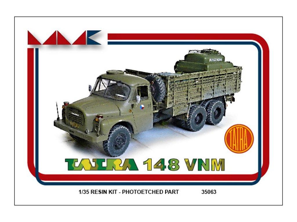 Resinový model kamion MMK 35063 - T 148 VNM (1:35)
