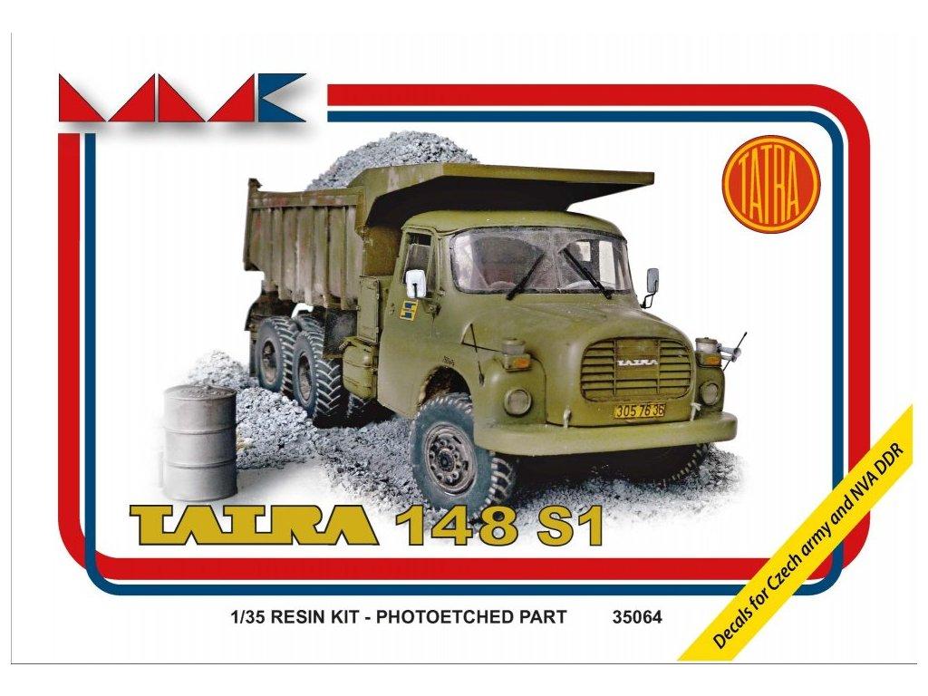 Resinový model kamion MMK 35064 - TATRA 148 S1 (1:35)
