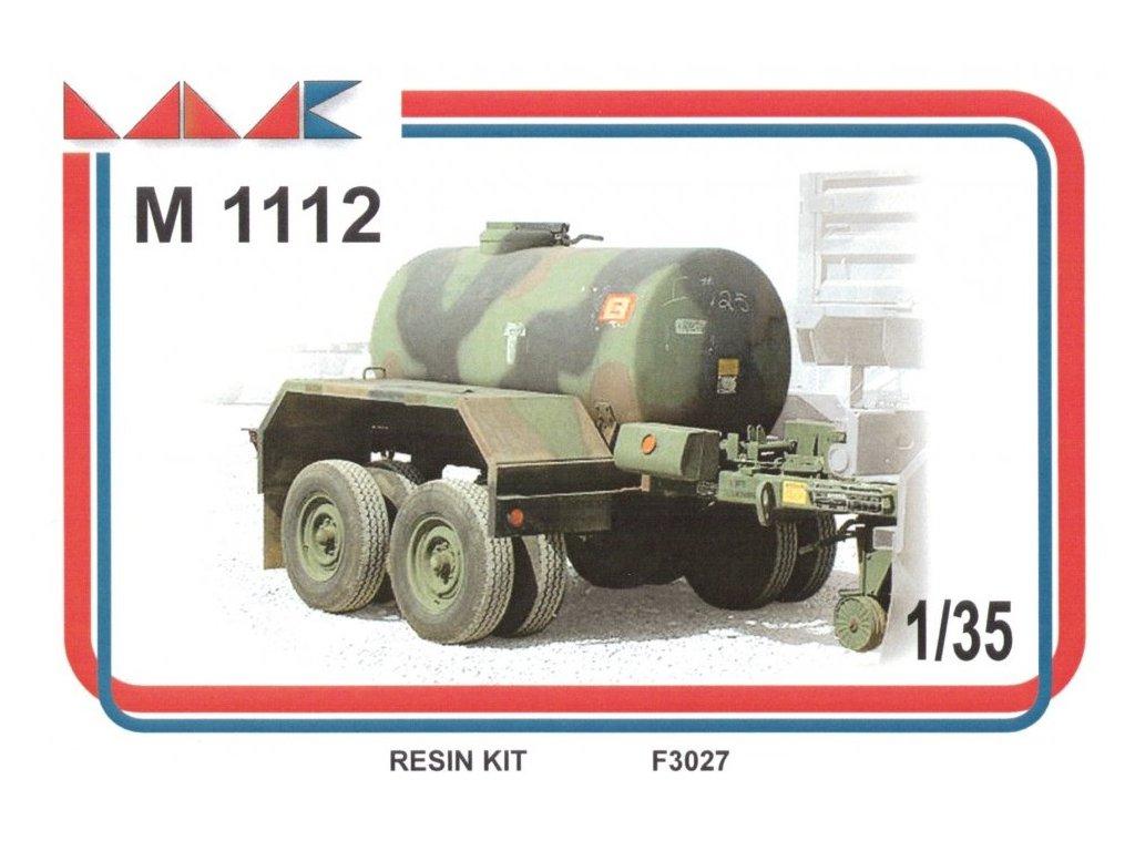 Resinový model náves MMK F3027 - M 1112 WATER TANK TRAILER (1:35)