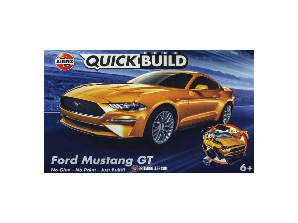 Quick Build auto AIRFIX J6036 - Ford Mustang GT