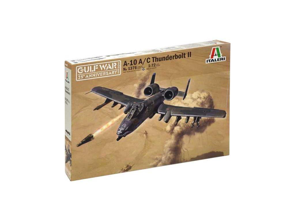 1079 model kit lietadlo italeri 1376 a 10 a c thunderbolt ll gulf war 1 72