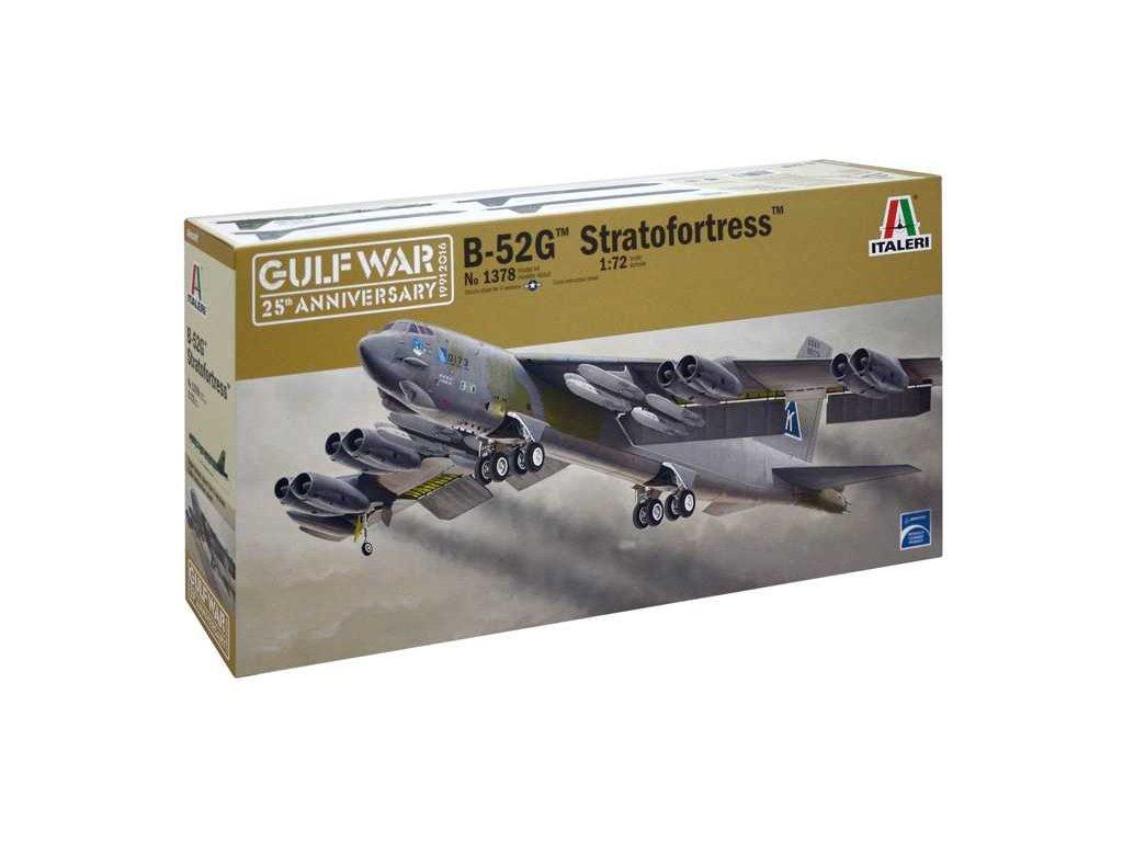 1088 model kit lietadlo italeri 1378 b 52g stratofortress 1 72