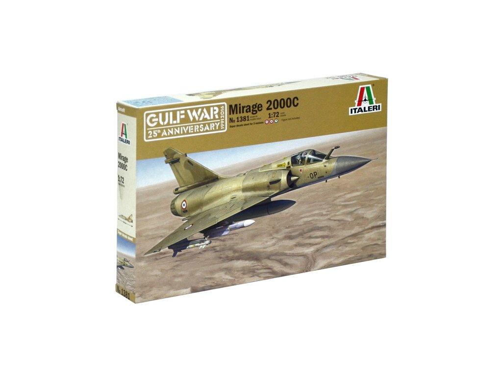 1097 model kit lietadlo italeri 1381 mirage 2000 1 72
