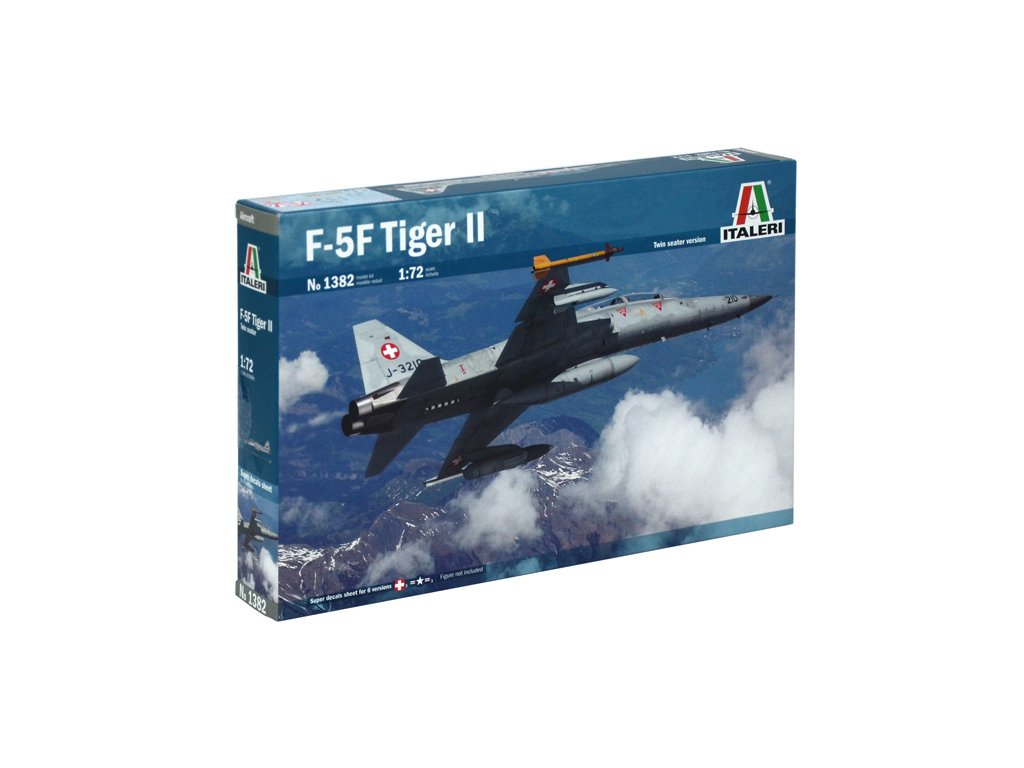 1100 model kit lietadlo italeri 1382 f 5 f twin seater 1 72