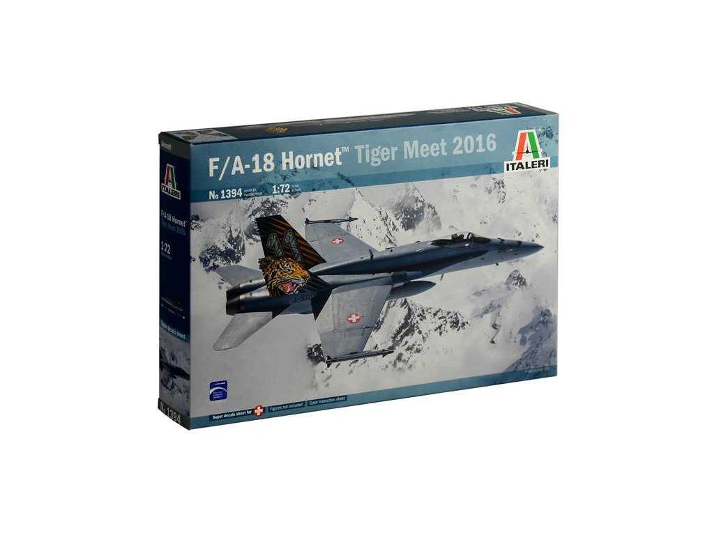 1136 model kit lietadlo italeri 1394 f a 18 hornet tiger meet 2016 1 72