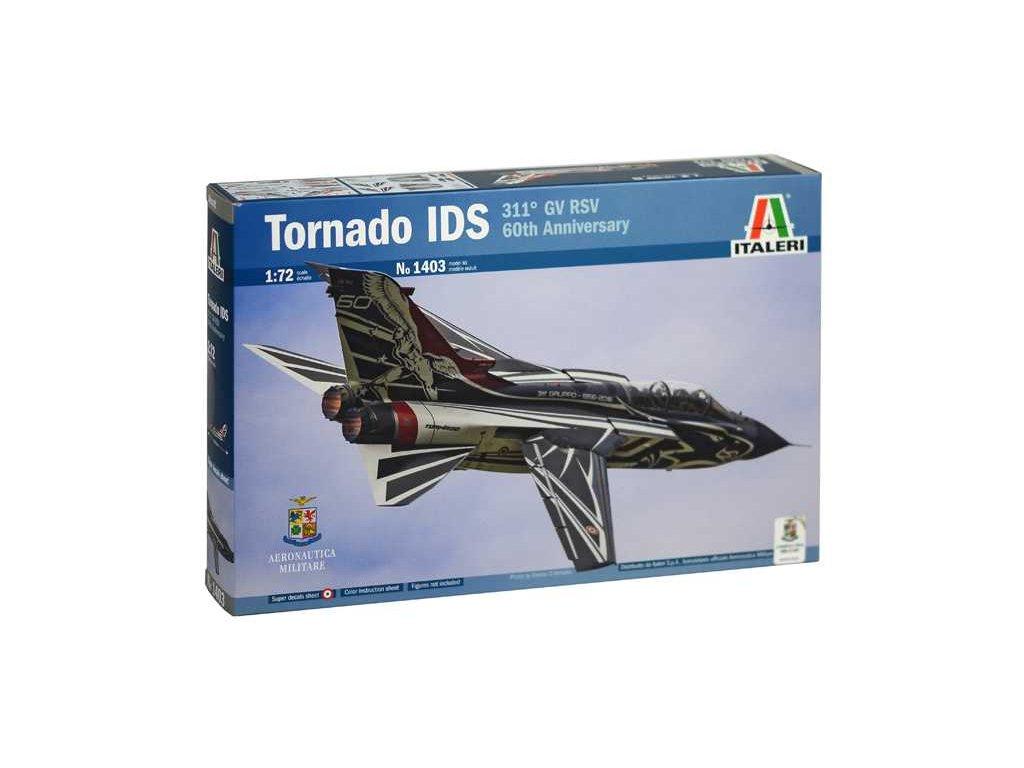 1160 model kit lietadlo italeri 1403 tornado ids 311 gv rsv 60th anniversary 1 72