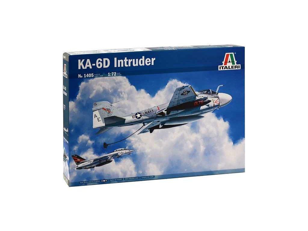 1166 model kit lietadlo italeri 1405 ka 6d intruder 1 72