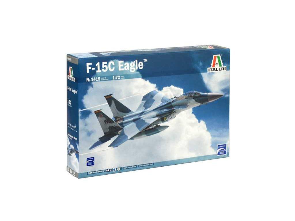 1184 model kit lietadlo italeri 1415 f 15c eagle 1 72