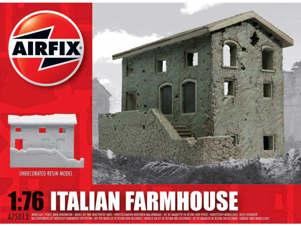 119 plastovy model budova airfix a75013 italian farmhouse 1 76