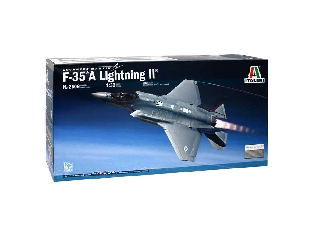 1211 model kit lietadlo italeri 2506 f 35a lightning ii 1 32