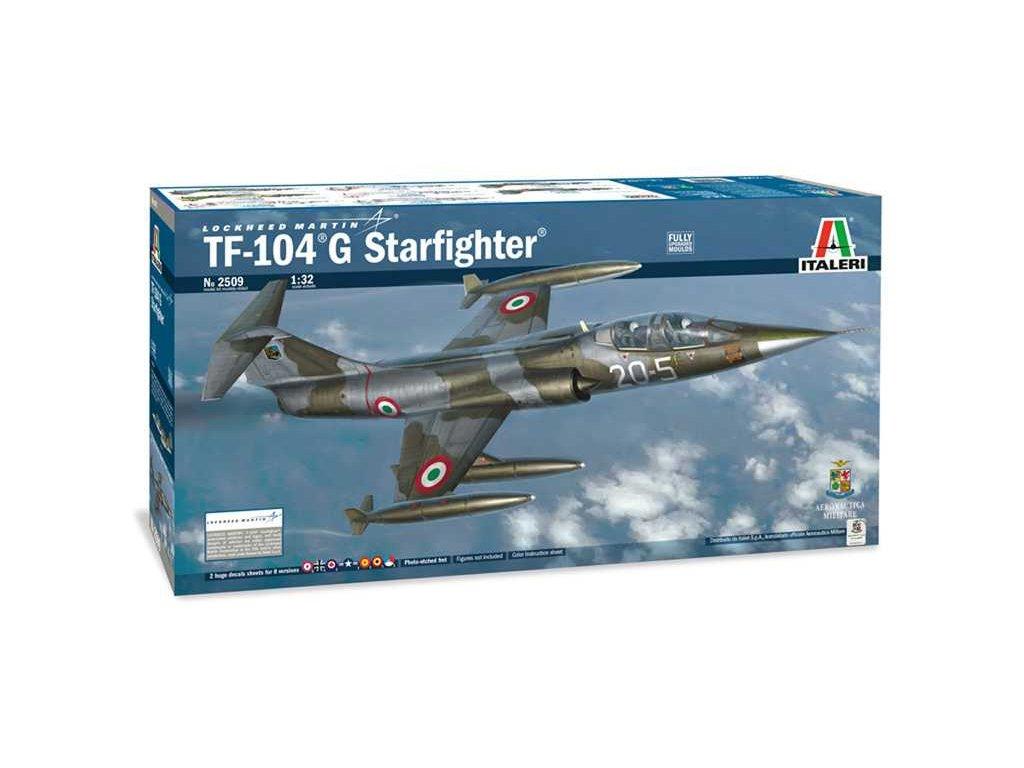 1214 model kit lietadlo italeri 2509 tf 104 g starfighter 1 32