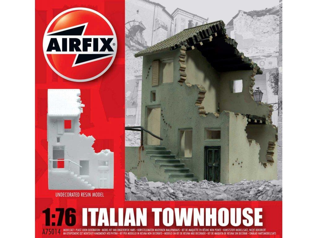 122 plastovy model budova airfix a75014 italian townhouse 1 76
