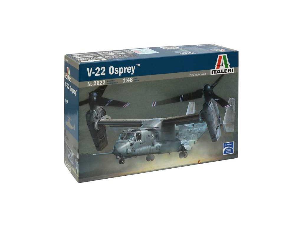 1226 model kit lietadlo italeri 2622 v 22 osprey 1 48