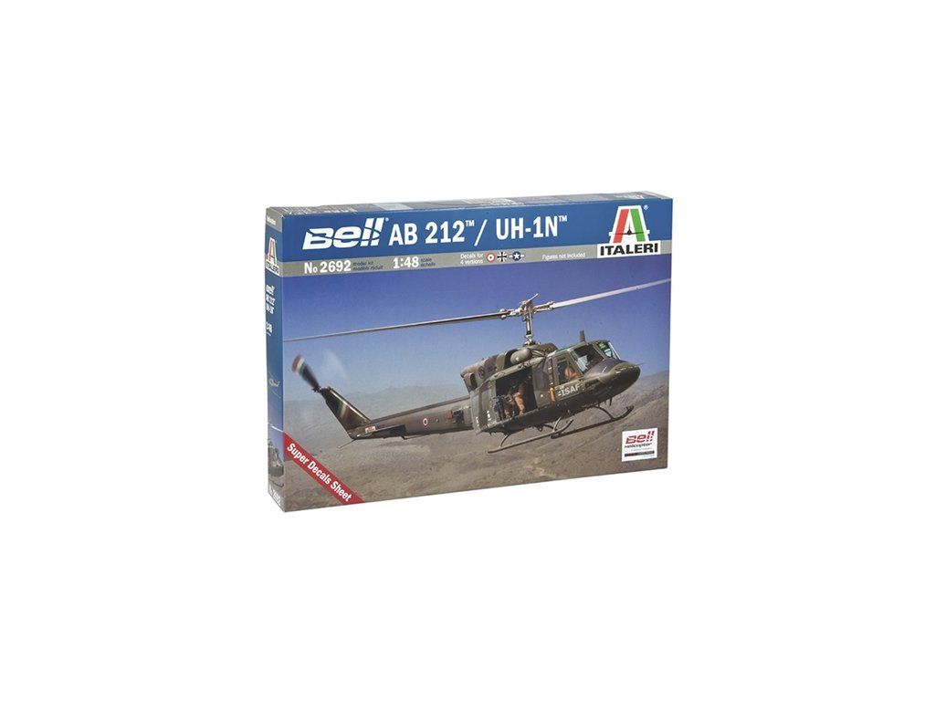 1244 model kit vrtulnik italeri 2692 ab 212 uh 1n 1 48