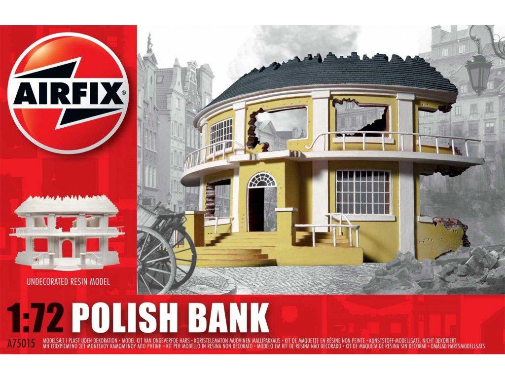 125 plastovy model budova airfix a75015 polish bank 1 72