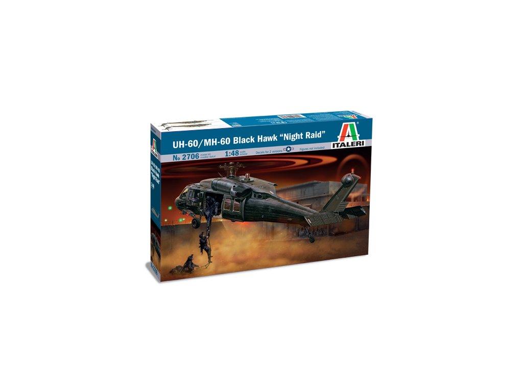 1253 model kit vrtulnik italeri 2706 uh 60 mh 60 night raid 1 48