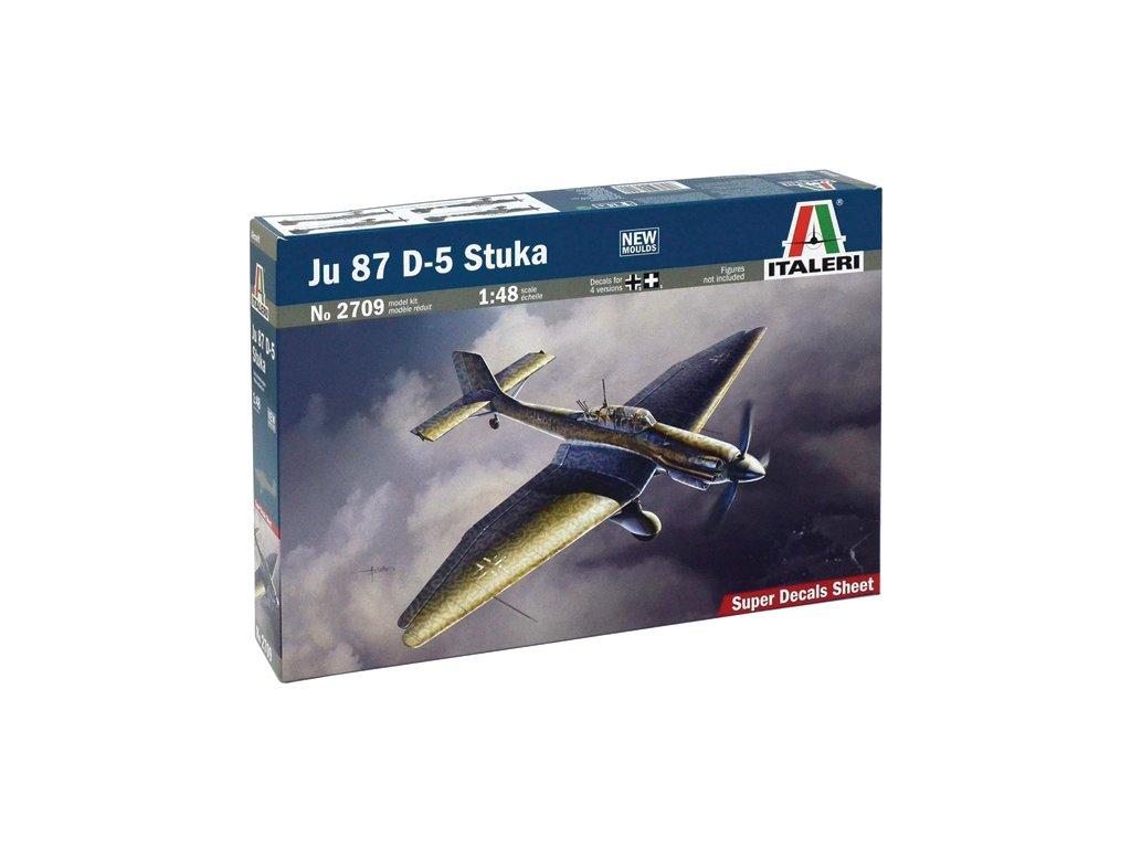1256 model kit lietadlo italeri 2709 ju 87 d 5 stuka 1 48